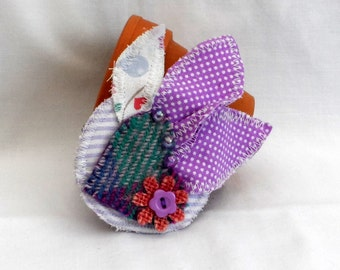 Harris Tweed Brooch