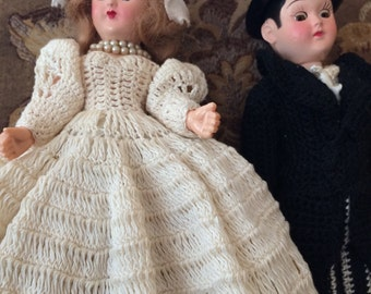 Vintage Celluloid Cake Toppers