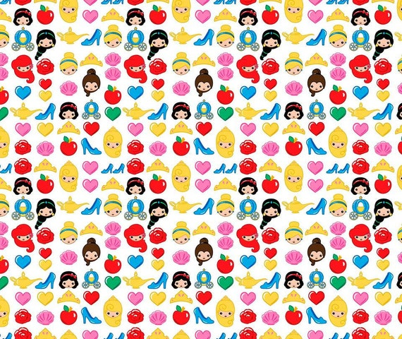 Unavailable listing on etsy for Emoji material by the yard