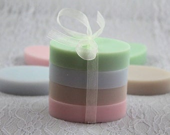 Sample scent trial size bath soap set #1