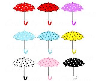 Sonnenschirm grafik  Sonnenschirm clip Regen Wetter digitale Kunst Kunst