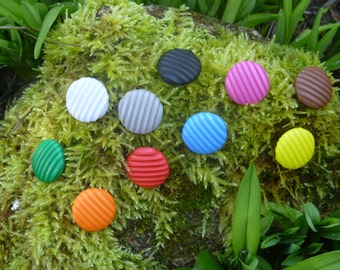 Rubber buttons (set of 5 buttons)