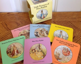 Little Treasury of Peter Rabbit by Beatrix Potter