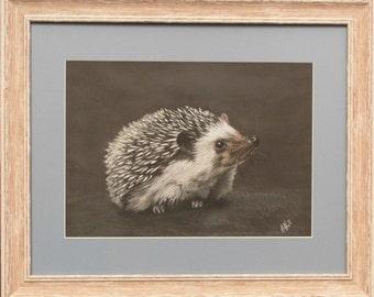 Happy Hedgehog - Original artwork