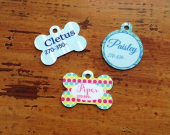 Personalized Dog or Cat Tags