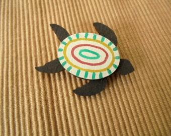 Brooch, sea turtle (1813)
