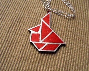 Necklace, tangram, sailboat (783)