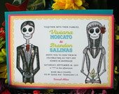 DE COLORES Wedding Invitation Deposit
