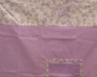 Baby cover, Breast Feeding cover Purple and white free shipping