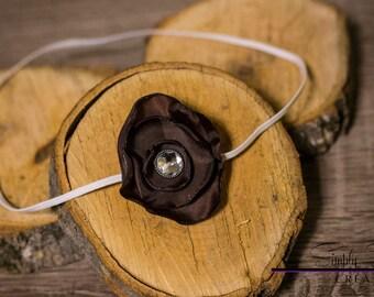 Dark Brown headband