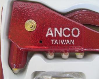 Heavy Duty Hand Riveter  Kit - Anco - Taiwan - unused -