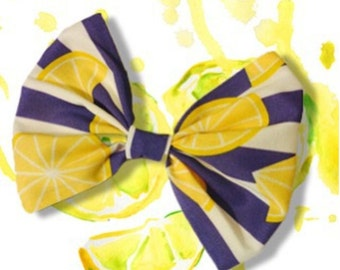 The Lemonade Stand Hair Bow