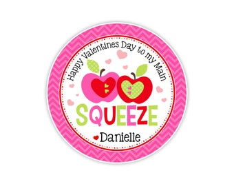 Valentines Day Main Squeeze Card or Tag