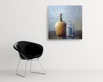 stilllife painting, original painting, large oilpainting, large wall art. large painting, contemporary painting, canvas art