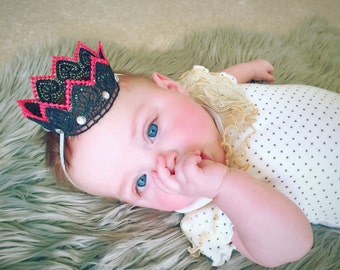 Azlyn lace crown