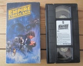 Original Unedited 1990 Star Wars Empire Strikes Back VHS