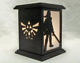 Zelda wooden lantern