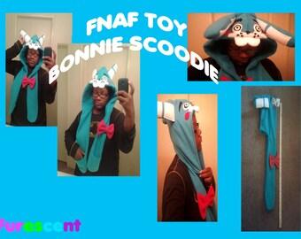 FNAF TOY BONNIE Scoodie scarf hoodie