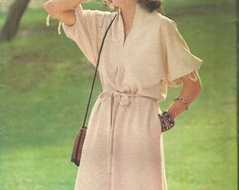 Vintage sewing pattern. Butterick see and sew 6001.
