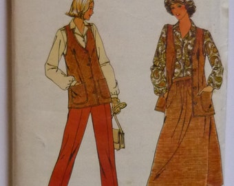 Vintage Sewing pattern. Butterick 6337