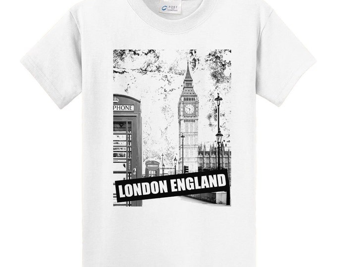 England London Big Ben Travel T-Shirt