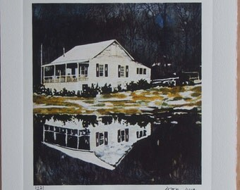 Peter Doig Hand Pressed Print