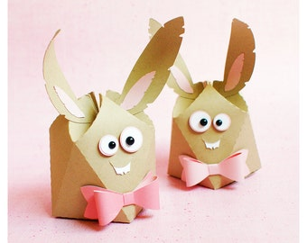 "plotterdatei - gift box ""little smiling bunny"""