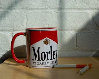 X-Files Coffee Mug Morley  - The Cigarette Smoking Man from ZanzibarLand
