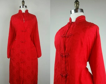 40s Japanese Robe with Pockets