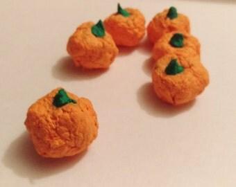 Halloween Pumpkin Seed Bombs