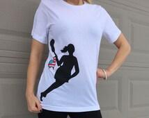 LACROSSE SHIRT, Lax Shirt, Girls Lacrosse, Women's Lacrosse