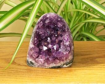 EXTRA AMETHYST natural  geode gemmy crystal points  specimen #16-382