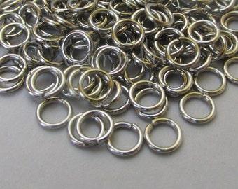 Jump Rings 5mm - 100/200/500 Stainless Steel 20 Gauge Open Jump Rings F0269