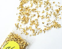 Gold confetti Wedding confetti Party decor Gold Dust | FREE SHIPPING