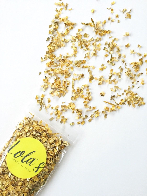 gold confetti wedding confetti party decor gold dust free