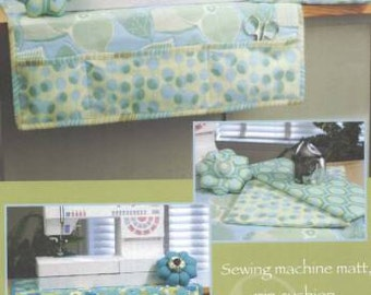 Sew Happy Sewing machine mat pattern, pin cushion pattern and mini iron board pattern