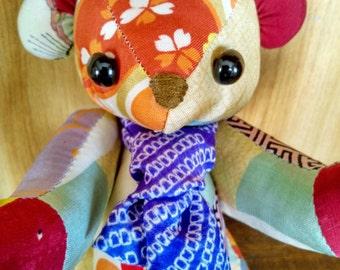 Silk Cute Teddy Bear with Tie