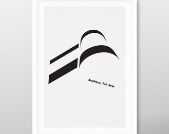 bauhaus balcony 3 | poster | Limited Edition | SALE | FREE SHIPPING!