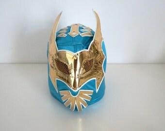 Lucha libre mask. Máscara luchador mexicano costume lucha libre