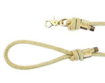 Dog leash 5 FT - paranoid Gold 1.5 m dog leash