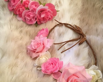 Flower Garland Head Crown/Wreath