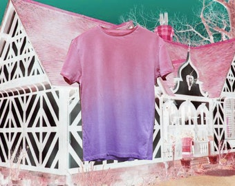 CUSTOM - dip dye t-shirt