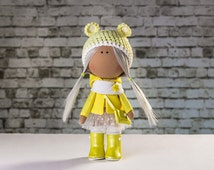 Doll Hanna. Tilda doll. Textile doll. Soft toy. Cute gift. Lovely girl. Сollection La Petite