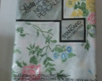 2 vintage Pillowcases Nip