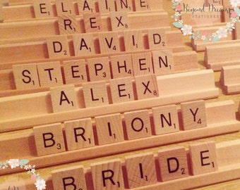 Scrabble Gifts Etsy