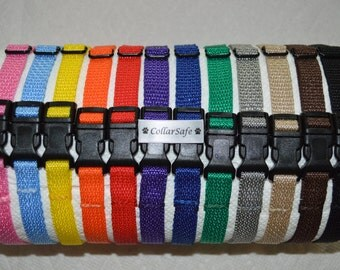 Set of Nylon Puppy Litter Identification Snap Collars - ID Bands for Puppies - ***FREE Same/Next Business Day SHIPPING!*** (see below)