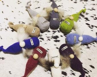 Alpaca and silk gnomes, elfs, santa, mustache men