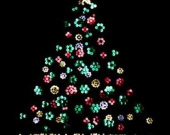 Christmas T-Shirts Bling Christmas Tree Sequins V-Neck T Shirt Rhinestone V Neck Shirt Women Clothing Holiday Festive shirts Grafix Shirts