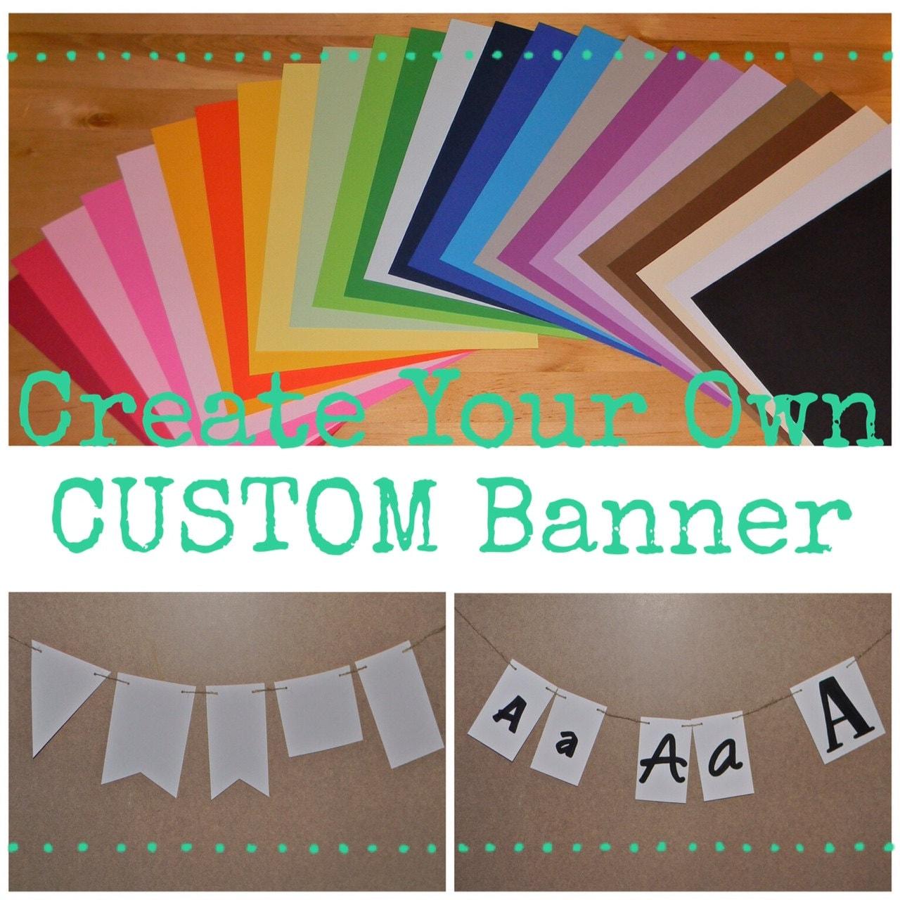 Create Your Own Custom Banner Custom Name Banner Custom