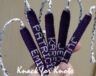 Custom Name Bracelet Inspired by Pretty Little Liars!